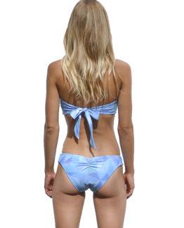 Michaela Strapless Bikini - Fractal (back)